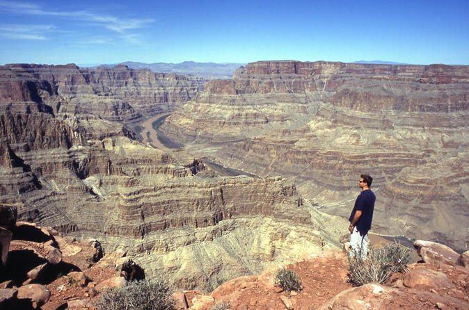 Excursão aérea e terrestre com tíquete opcional para o Skywalk do Grand Canyon