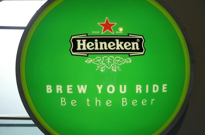 Amsterdam Hop-on Hop-off Boat  Day Pass and Heineken Experience