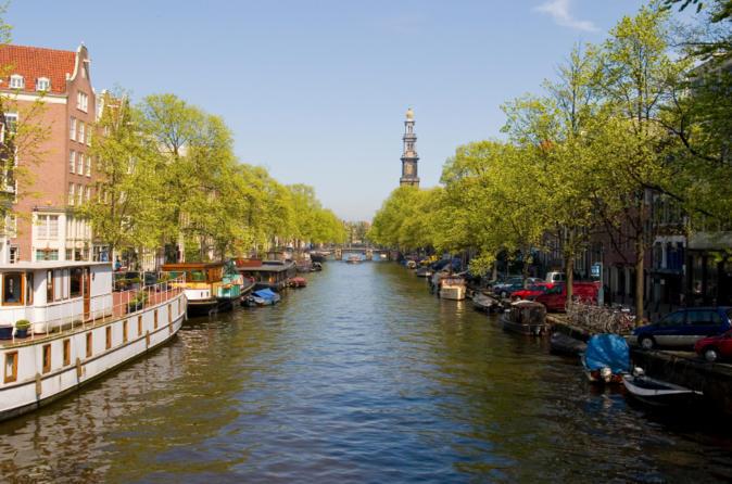 Destaques do cruzeiro turístico por Amsterdã