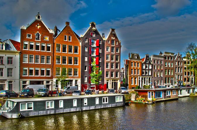 Ingresso normal para o Museu de Van Gogh e passe diário para o barco com várias paradas de Amsterdã