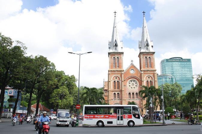 4-DAY TOURS: HOP ON HOP OFF BUS TOUR - MEKONG DELTA TOUR - CU CHI TUNNELS - Ho Chi Minh City
