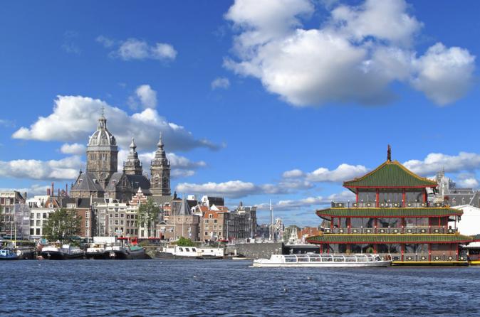 Amsterdã Combo: Excursão em Ônibus Panorâmico pela Cidade e Ingresso para a Exposição Body Worlds