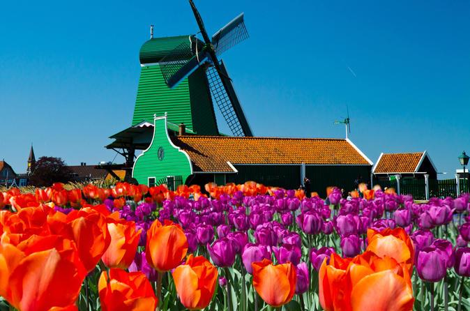 Amsterdã supereconômica 3: city tour e viagem diurna para Zaanse Schans Windmills, Volendam e Marken