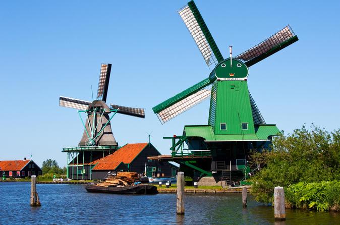 Amsterdã supereconômica: a viagem diurna aos moinhos de vento de Zaanse Schans, A Haia e Madurodam