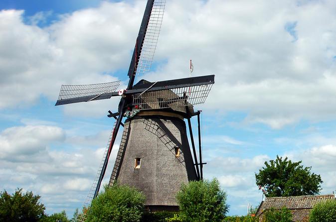 Amsterdã supereconômica: viagem diurna a moinho de vento e campos de tulipa até Zaans Schans, Marken, Volendam e Keukenhof Gardens