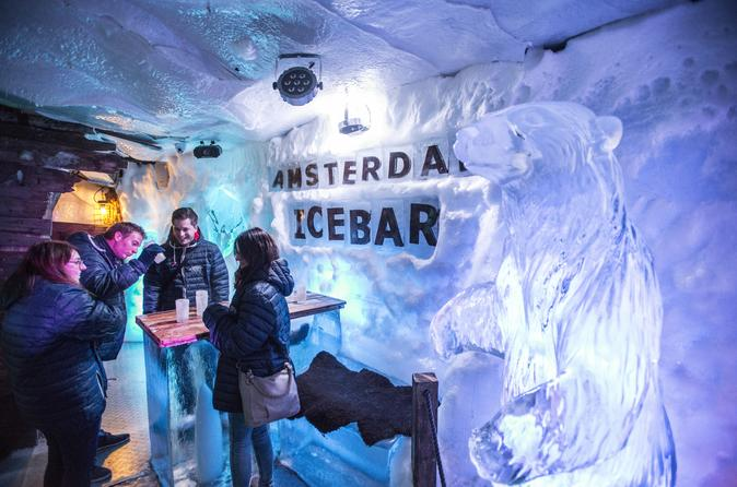 Amsterdam's Icebar Xtracold with Canal Cruise