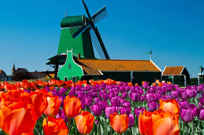 Amsterdam Super Saver 3: City Tour plus Zaanse Schans Windmills, Volendam and Marken Day Trip