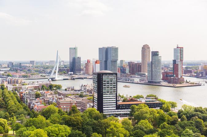 Excursão de dia inteiro saindo de Amsterdã: Rotterdam, Delft, The Hague e Parque de Miniatura Madurodam