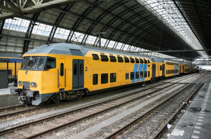 Traslado de chegada particular: estação ferroviária de Amsterdã