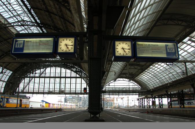 Traslado de partida particular: estação ferroviária de Amsterdã