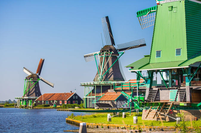 Viagem de meio dia aos moinhos de vento de Zaanse Schans, Marken e Volendam saindo de Amsterdã