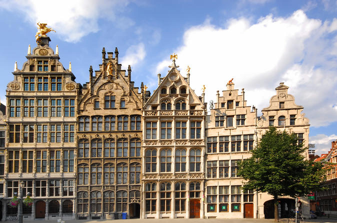 Viagem diurna a Bruxelas saindo de Amsterdã
