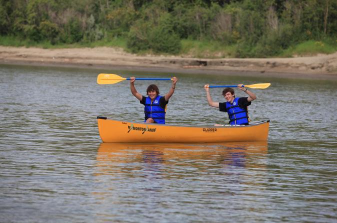 Devon to edmonton self guided canoe trip in edmonton 269656
