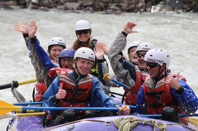 Sunwapta river self drive rafting trip in jasper 303619