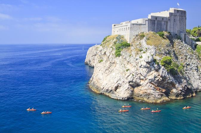 Dubrovnik Sea Kayak and Snorkeling Small-Group Tour