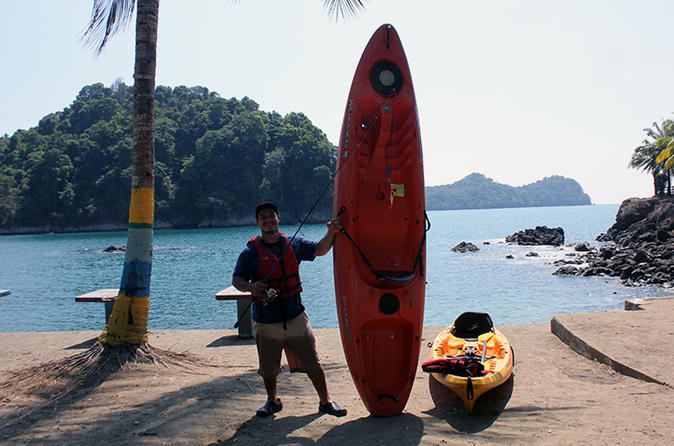 Kayak fishing in manuel antonio in quepos 288840