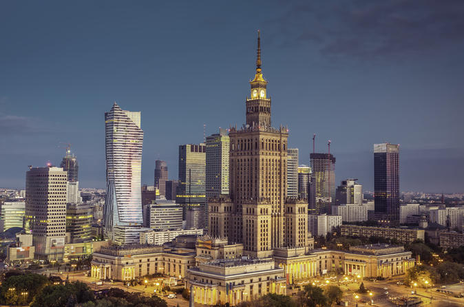 Warsaw Palace of Culture and Science Tour
