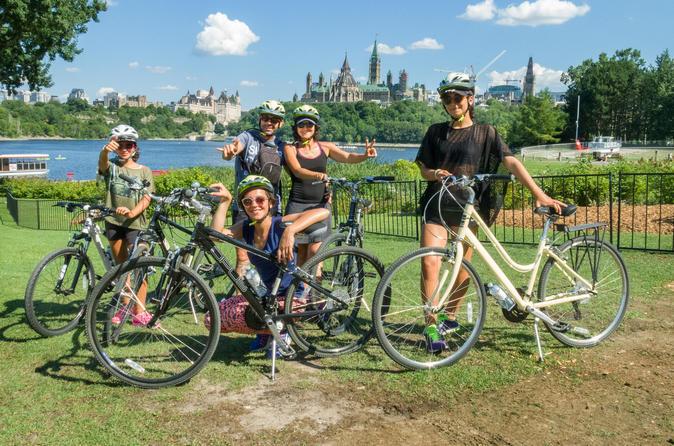 Excursão de bicicleta expressa de 2 horas pela cidade de Ottawa