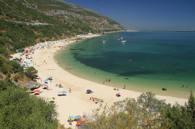 Full Day Private Tour of Secret South of Lisbon Beaches and Wine Region