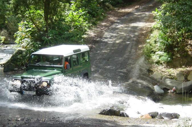 Jeep Tour Furnas from Ponta Delgada