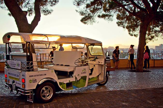 City Tour Tuk-Tuk privada de Lisboa de 1 hora