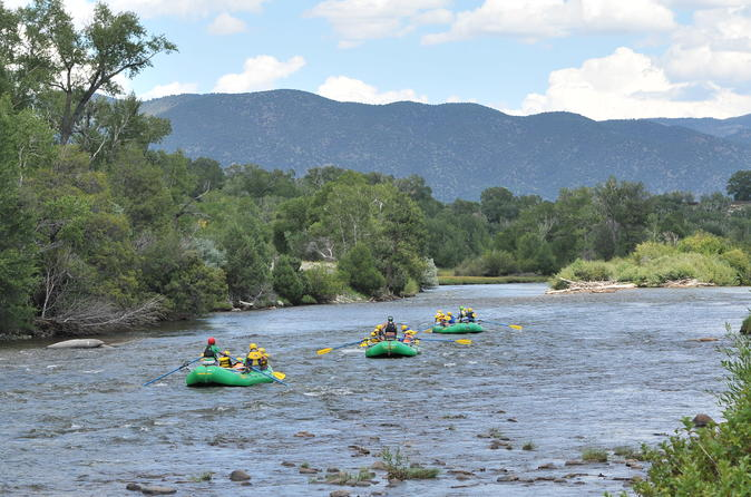 Arkansas river dinner float in buena vista 281299