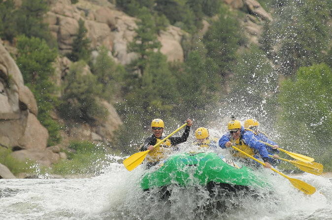 Browns canyon national monument whitewater rafting in buena vista 214969