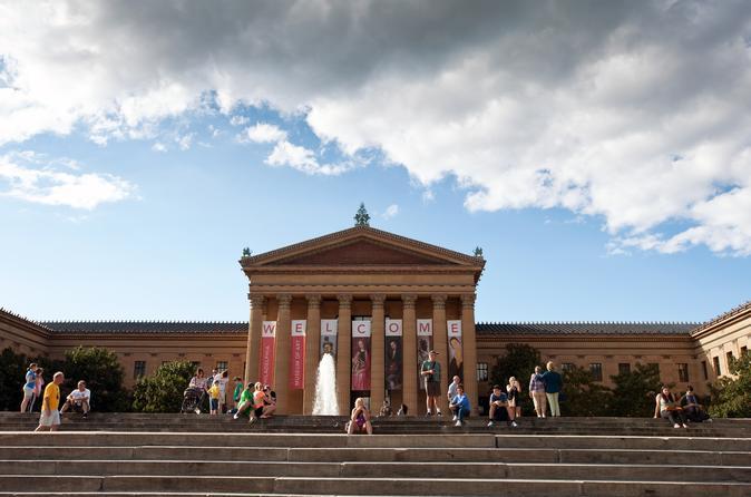 Entrada geral ara o Museu de Arte da Filadélfia