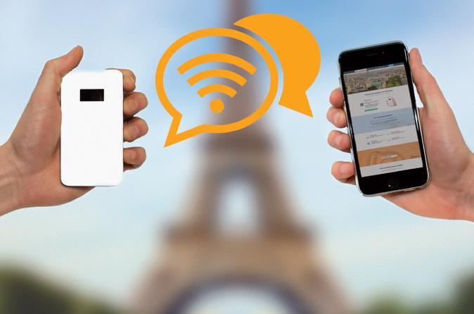 4G Pocket WiFi in Hamburg: Mobile Hotspot for 3 Days or More