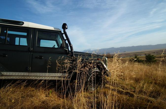 Private Tour: The Golden Circle 4x4 jeep tour from Reykjavik for 1 to 6 person