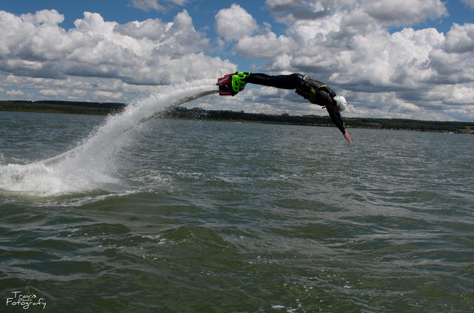 40 minute alberta flyboard experience for two in sylvan lake 337331