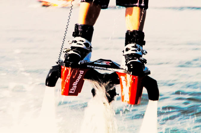 60 minute alberta flyboard experience for four in sylvan lake 337340