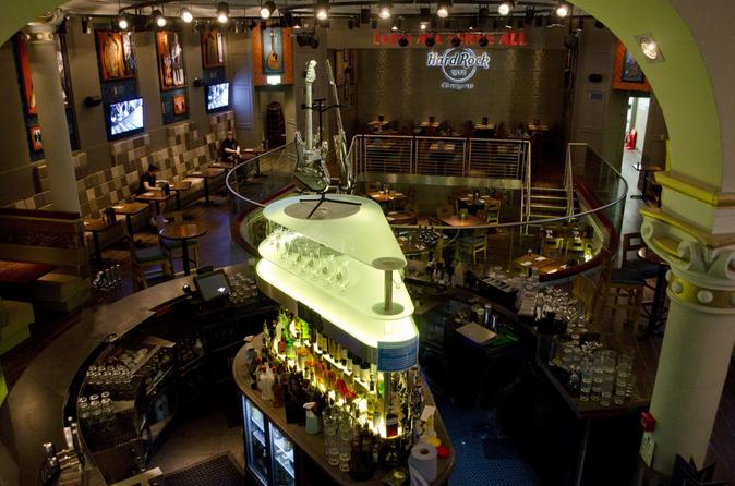 Skip the line hard rock cafe glasgow including meal in glasgow 147941