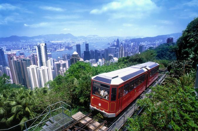 Peak Tram Sky Pass: Tram Ticket, Hong Kong Sky Tour and Sky Terrace 428 Entry