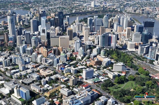Brisbane City Scenic Flight