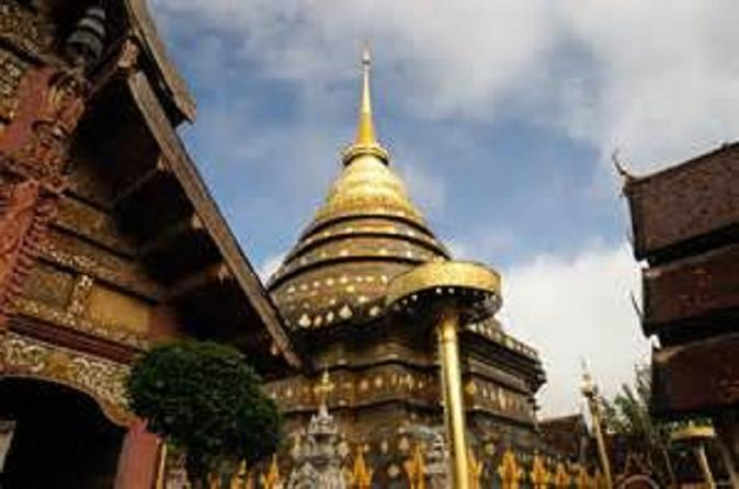 Wat Prathat Lampang Laung lokaler Markt Wat Prathat Haripunchai Wat Chama Thewe