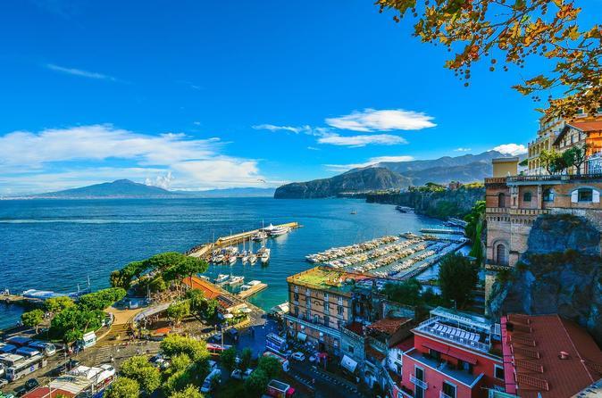 Pompeii and Amalfi Coast Trip from Rome