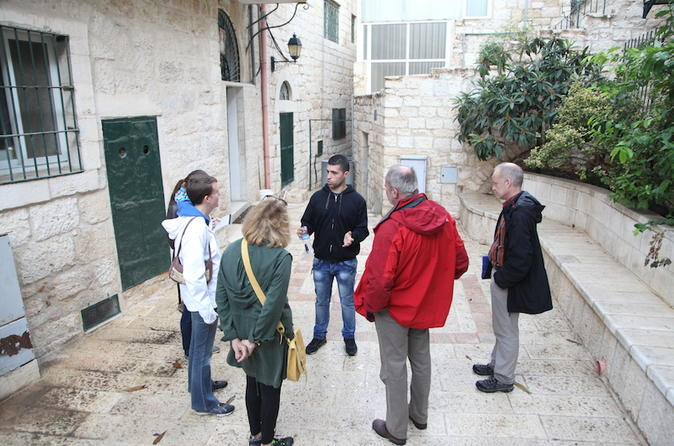 Small group bethlehem old quarter walking tour in bethlehem 309281