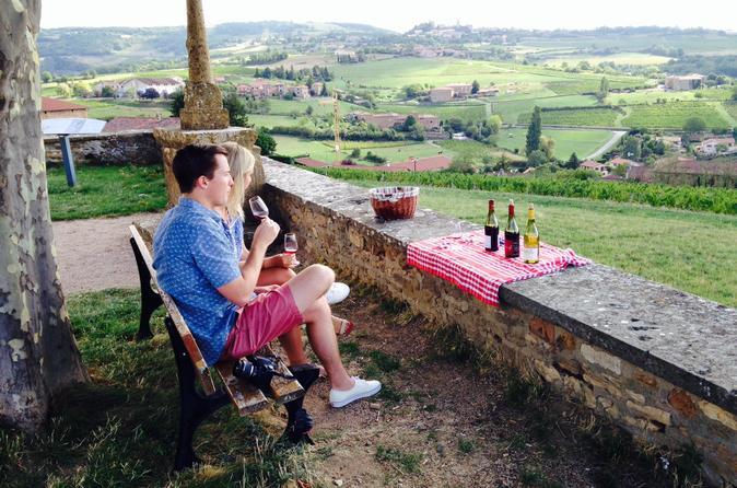 4-Hour Private Beaujolais Wine Tasting Tour from Lyon