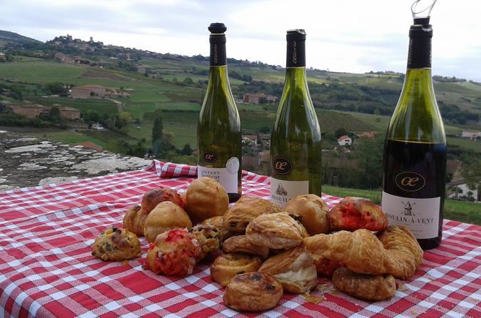 Excursão vinícola gourmet em Beaujolais com degustações saindo de Lyon