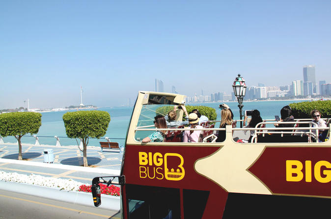 Big Bus Abu Dhabi Hop-On Hop-Off Tour Including Yas Island and Sky Tower United Arab Emirates, Middle East