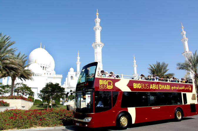 Your trip to Abu Dhabi, with two activities, and rental car