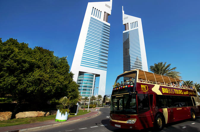 Big Bus Dubai Hop-On Hop-Off Tour United Arab Emirates, Middle East