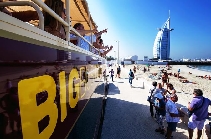 Dubai Hop-On Hop-Off Big Bus Tour with 3 Routes