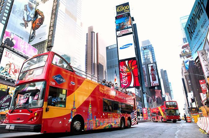 Excursão hop-on hop-off por toda a cidade de Nova York