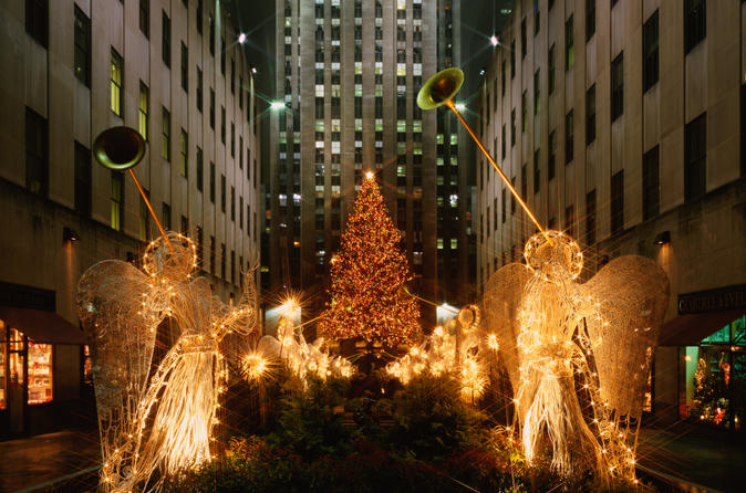 Christmas Lights In New York 2019 New York City Holiday Lights Tour 2019