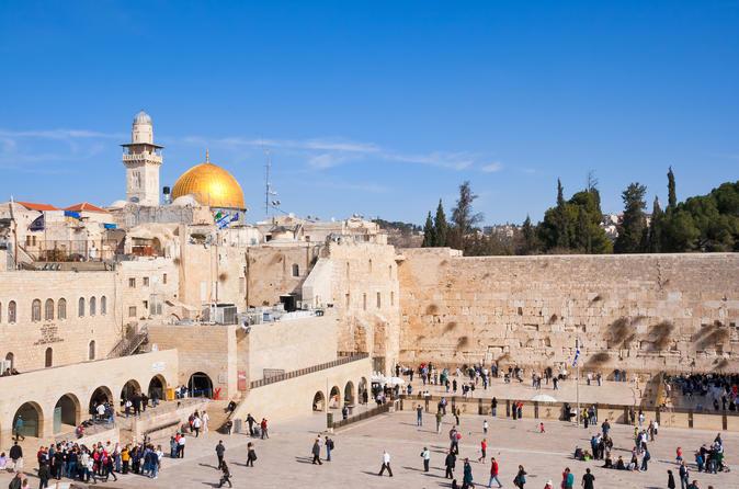Jerusalém, Mar Morto e Belém saindo de Tel Aviv