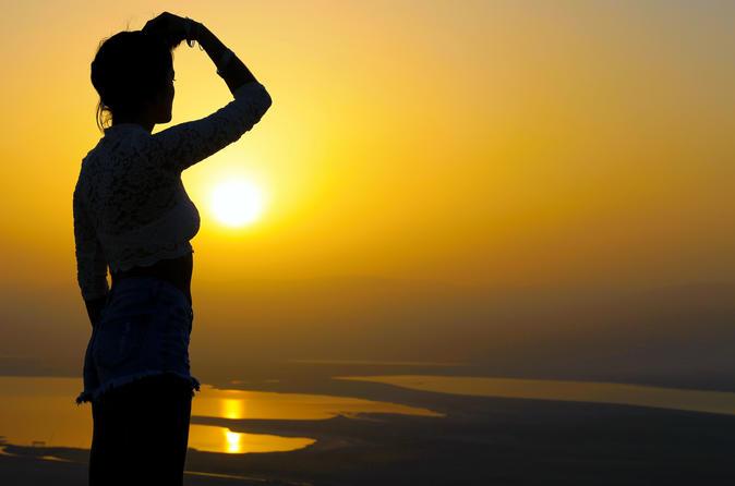 Viagem de um dia: Masada Sunrise, Ein Gedi e Mar Morto, a partir de Tel Aviv