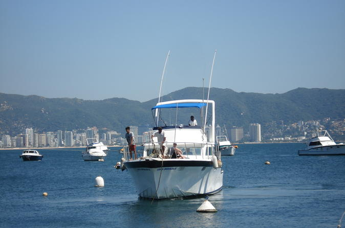 Private Tour: Sightseeing Boat Ride in Acapulco