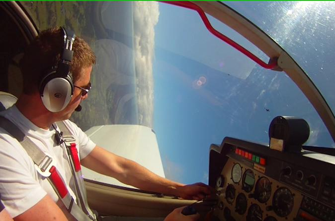 U-Fly Aerobatics Flight Experience